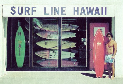 Ben Aipa Surf Line Hawaii Sting