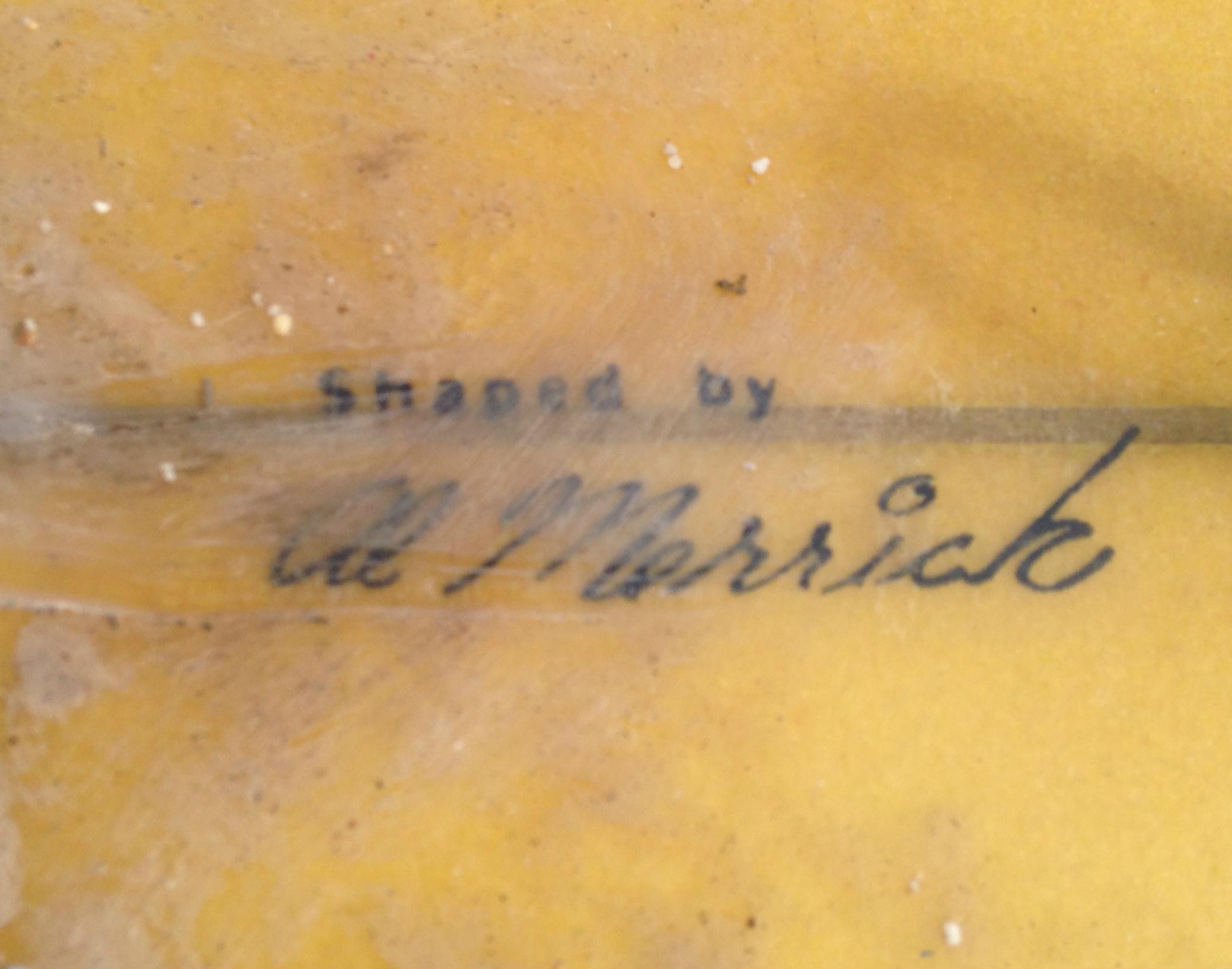 Al Merrick Stamped Signature
