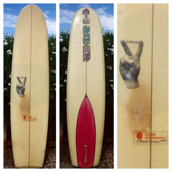 Con Surfboards CC Rider V-Wedge2