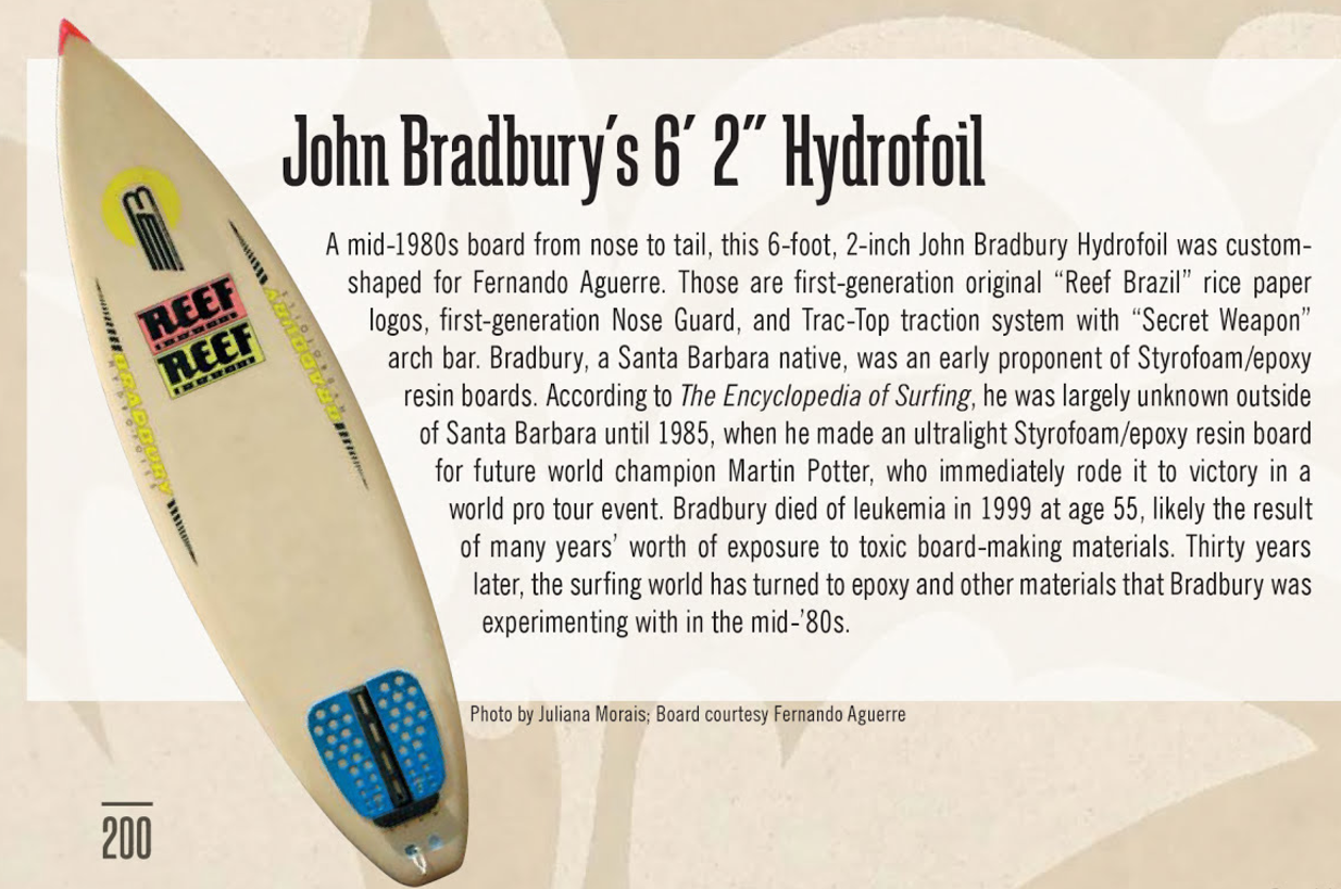 Creative Freedom John Bradbury Epoxy EPS Board