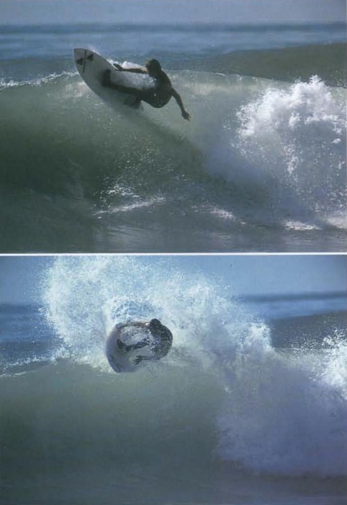Tom Curren Al Merrick Rincon 1980