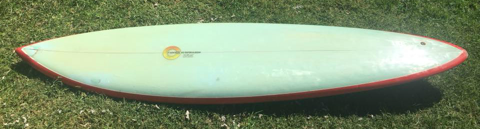 Canyon Rusty Priesendorfer Seventies Single Fin