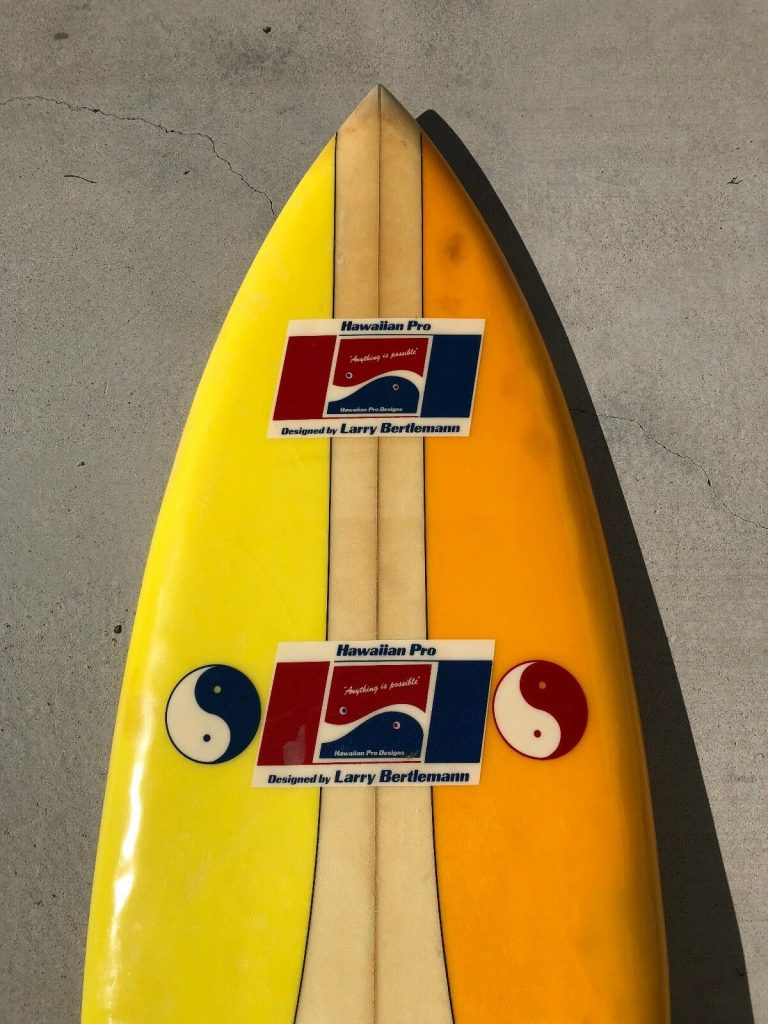 Hawaiian Pro Designs Larry Bertlemann Surfboard 3