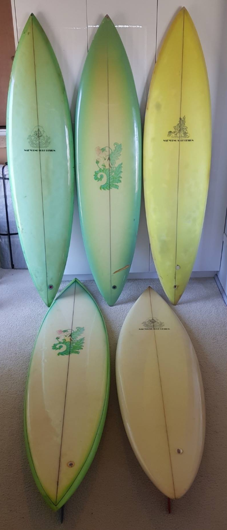 Nat Young Surfboards