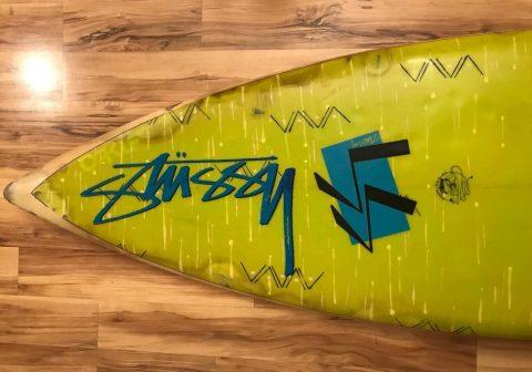 Stussy 80s Surfboard