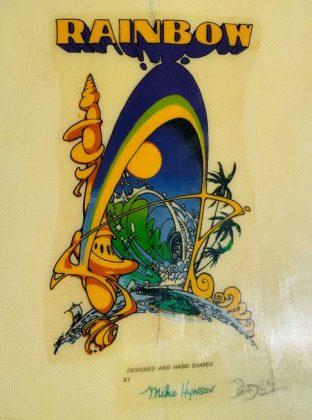 Rainbow Mike Hynson Logo
