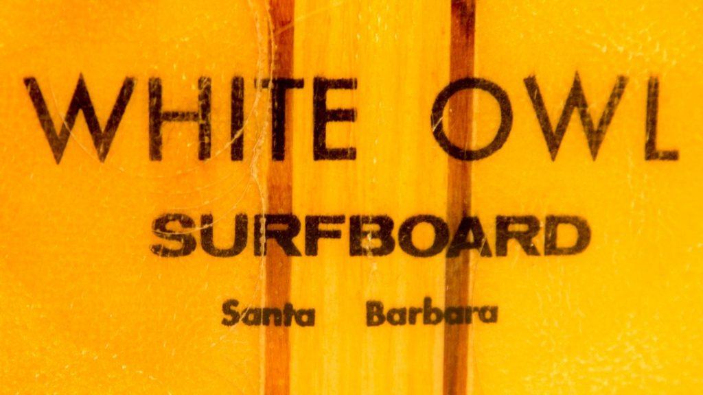 white owl surfboard logo