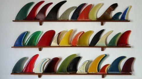 vintage surfboard fins